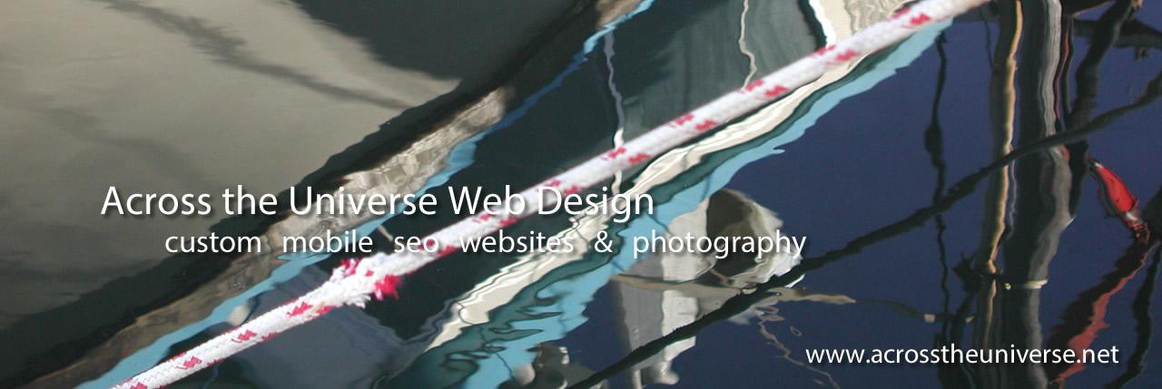 Across the Universe Web Design