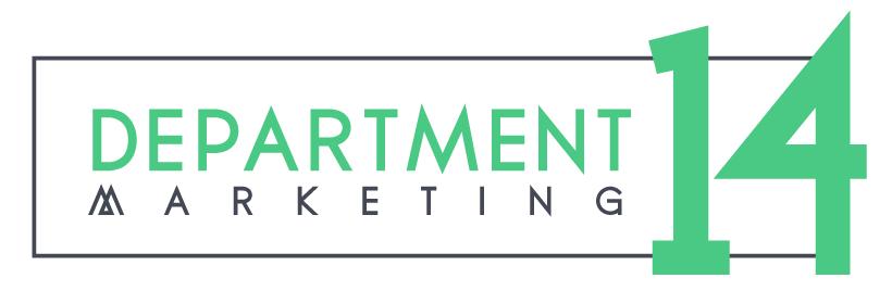 Department 14 Marketing